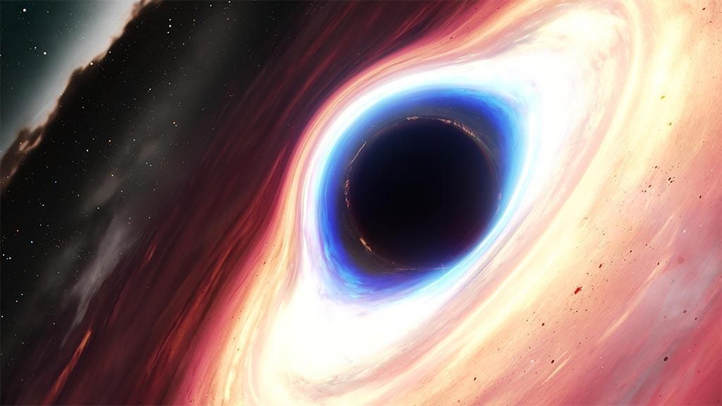 Как работает чёрная дыра