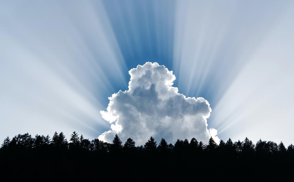 Сколько весит облако?