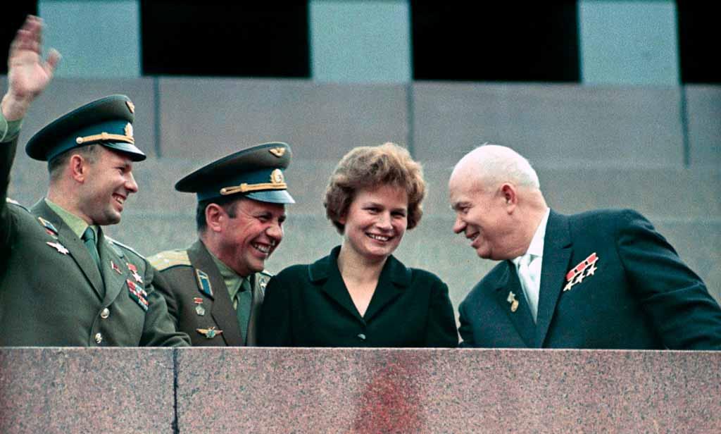 Валентина Терешкова. Первая женщина-космонавт.